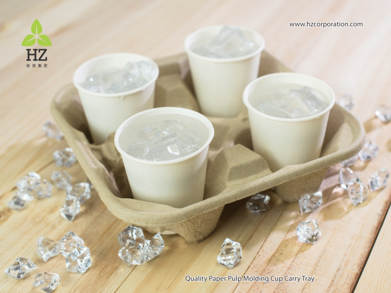 HZ High Quality Cup Carry Tray for all type of beverages ...