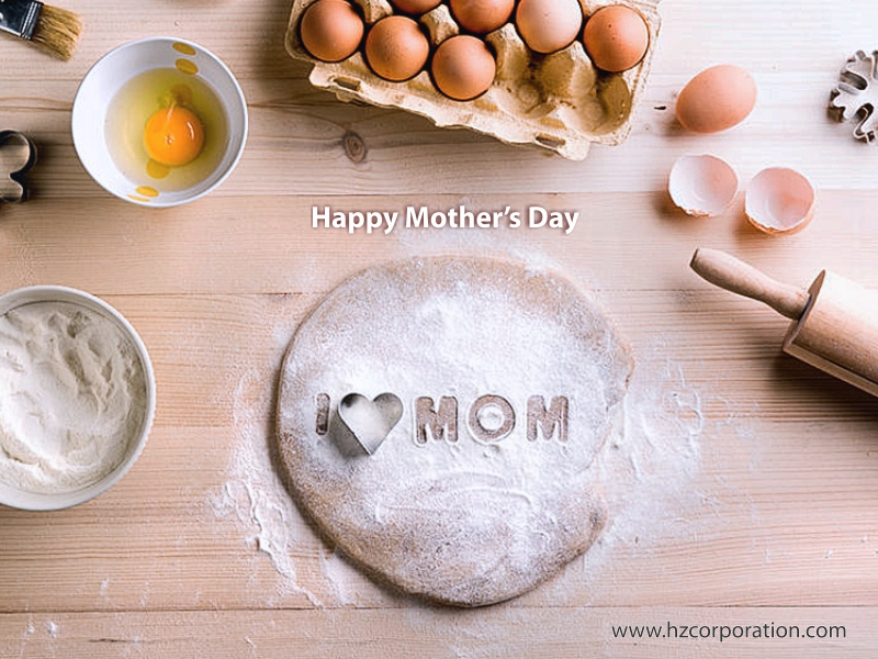 Happy Mother's Day egg Tray carton eggs duck chicken farm poultry Paper Pulp Molded HZ mother mothers mummy mom mama mommy carnations love