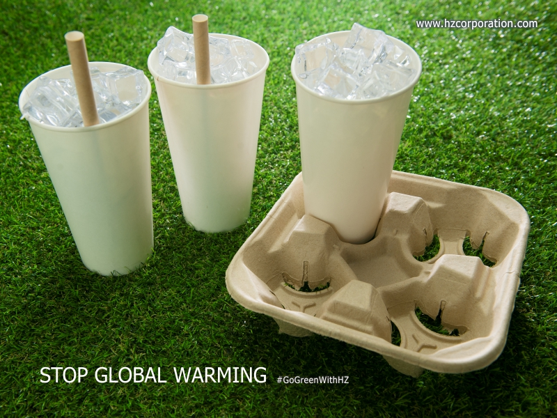 Global warming is a global warning ... Think Green, Act Green & Live Green gogreen with hz go green sustainable eco-friendly zerowaste packaging biodegradable paper pulp recycle eco recycling recycled pollution pollutions global warming save the earth coffee retail cafe food